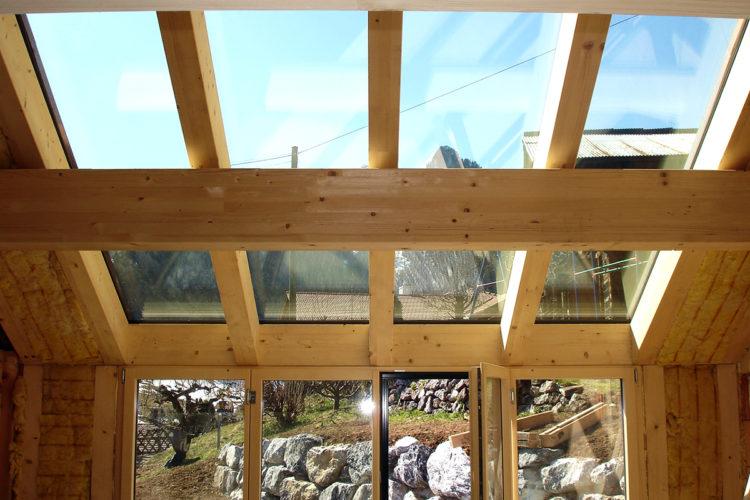 Fritz Dänzer  Boltigen - Dachfenster