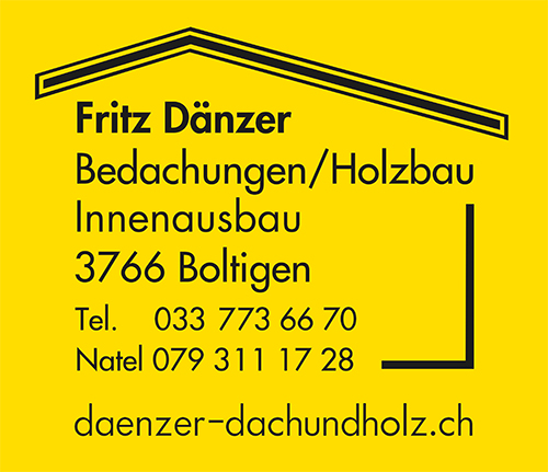 Fritz Dänzer – Dach und Holz